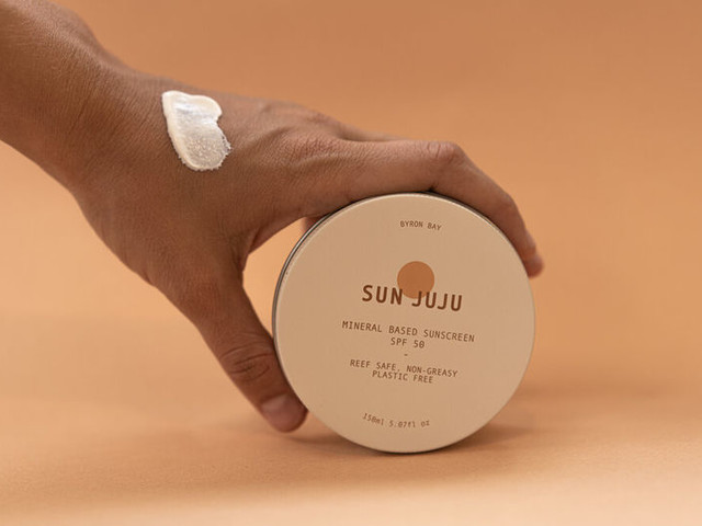 Plastic-Free Sunscreens - Sun Juju is a Non-Toxic Sun Care Product That's Packaged in Aluminum (TrendHunter.com)