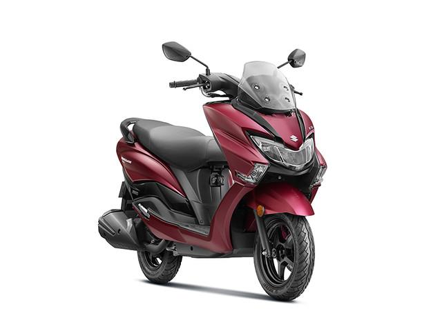 BS6 Suzuki Burgman Street launched at Rs 77,900