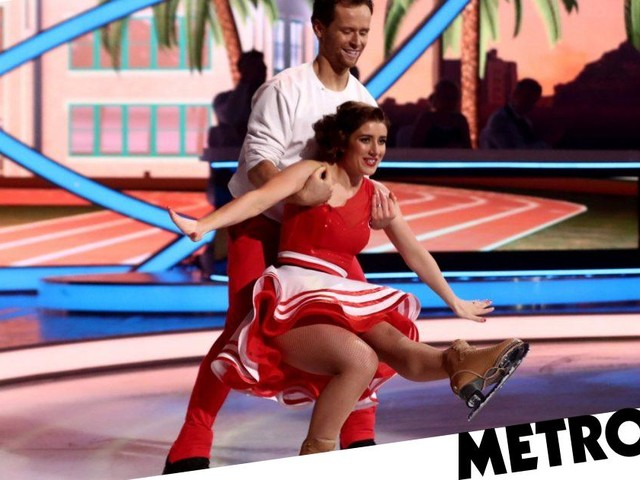 Where is Libby Clegg on Dancing On Ice tonight?