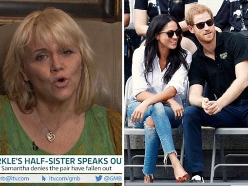 Meghan Markle's estranged half-sister gushes about sibling