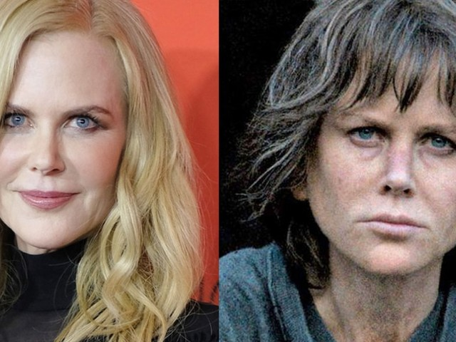 Nicole Kidman is unrecognisable as she undergoes gritty ...