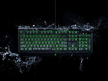 Razer Blackwidow Ultimate scoffs at water and dust now