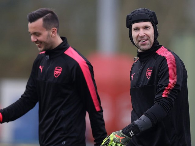 Six things we noticed from Arsenal training as Gunners look to put Ostersund to bed before Carabao Cup Final