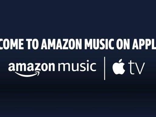 Amazon Music lands on the Apple TV 4K