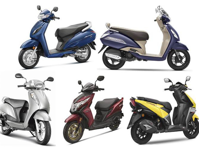 Top 10 bestselling scooters in FY2020