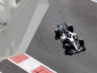 World champion Hamilton tops final practice for Abu Dhabi GP