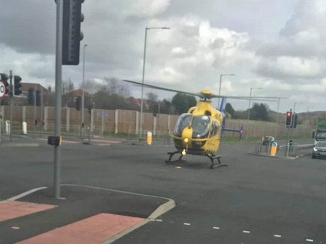 Live: Emergency services attending serious collision on the A555 Airport Relief Road - latest updates