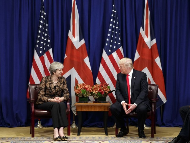'Vitally important for regional security': Theresa May asked Trump not to end Iran nuclear deal