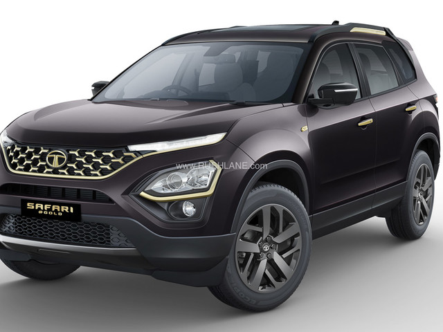 Tata Safari Gold Edition Launch Price Rs 21.89 L To Rs Rs 23.18 L