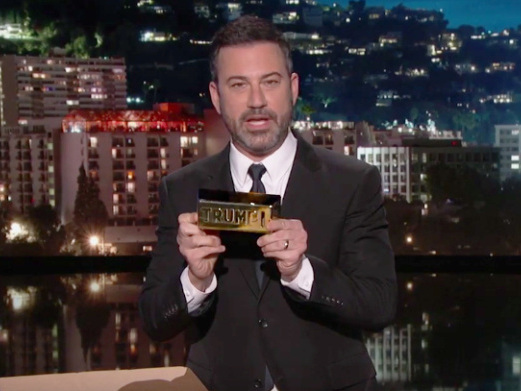 Jimmy Kimmel Discovers That Trump's Merchandise Is Far From 'America First' In More Ways Than One