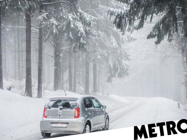 How to safely drive in the snow this winter