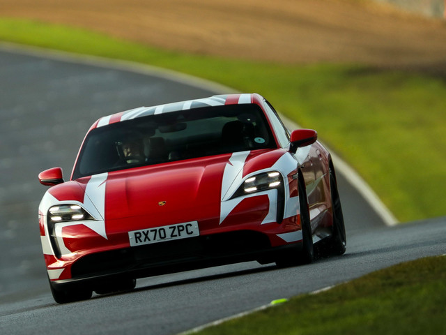 Charging to glory: How a Porsche Taycan set 13 EV records