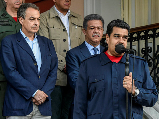 Maduro accepts talks offer with Venezuela opposition