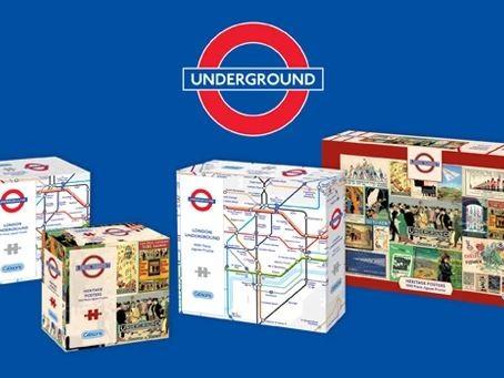 London Underground themed jigsaw puzzles