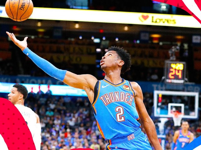 Shai Gilgeous-Alexander's winding journey to stardom with the Thunder