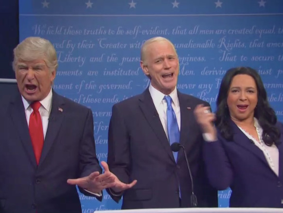 'Saturday Night Live' Tackles Trump's COVID Plan, Rudy Giuliani and the Mute Button in Presidential Debate Sketch