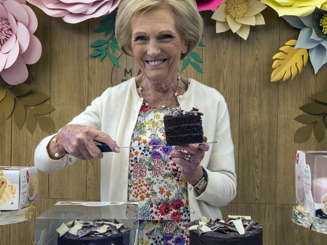 Mary Berry Launches Ready-Made Cakes Range After Years Of Persuading Us To Make Our Own