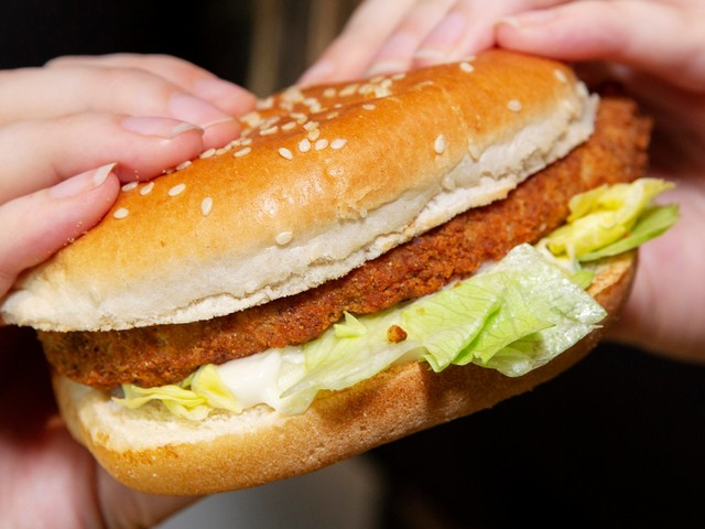 KFC is launching its first ever vegan fried 'chicken' burger in the UK