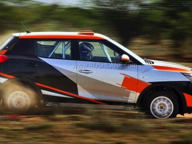 Mahindra XUV300 Rally Championship variant debuts – Super XUV300
