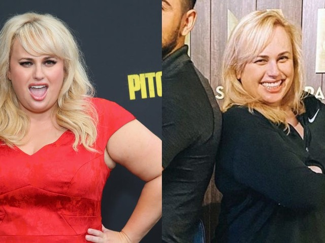 Rebel Wilson looks noticeably slimmer after enlisting a top personal trainer and declaring 2020 'the year of health'