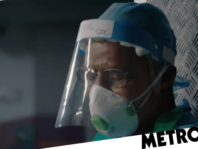 Holby City gives first look at dramatic return with coronavirus episode as Max and Ric clash ahead of Hugh Quarshie's exit