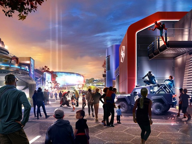 Disneyland Paris unveils first look at new Marvel themed area