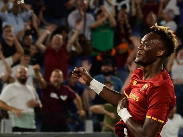 Tammy Abraham scores again (for José Mourinho's AS Roma)!