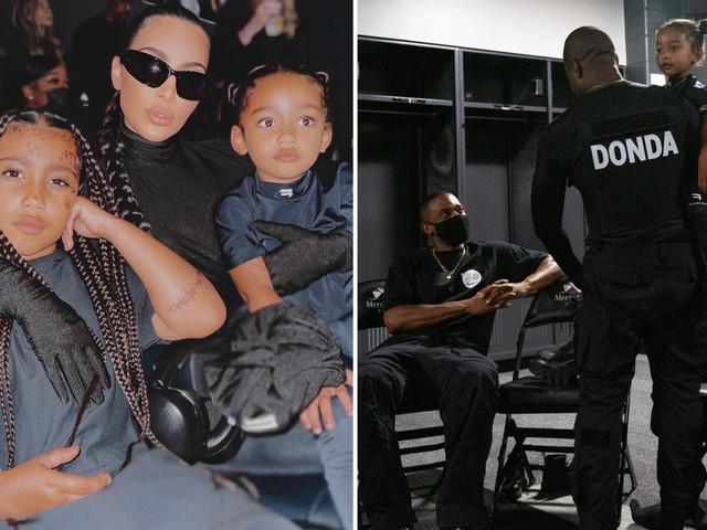 Inside Kim Kardashian's night out at Kanye West's Donda party