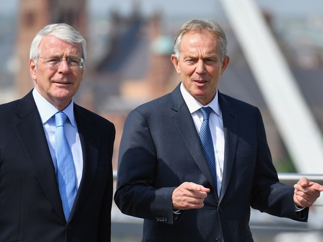Blair and Major: PM is 'shaming' the UK with plan to override key parts of Brexit deal