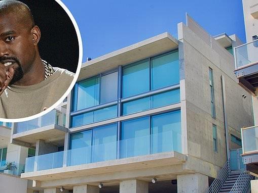 Kanye West splashes whopping $57.3MILLION on massive Malibu mansion amid divorce from Kim Kardashian