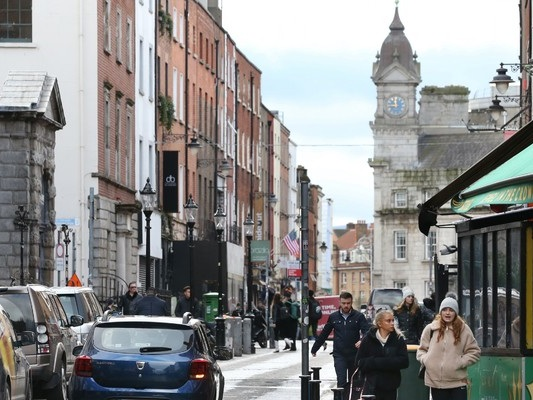 Area around Dublin's Grafton Street being pedestrianised this weekend in trial run