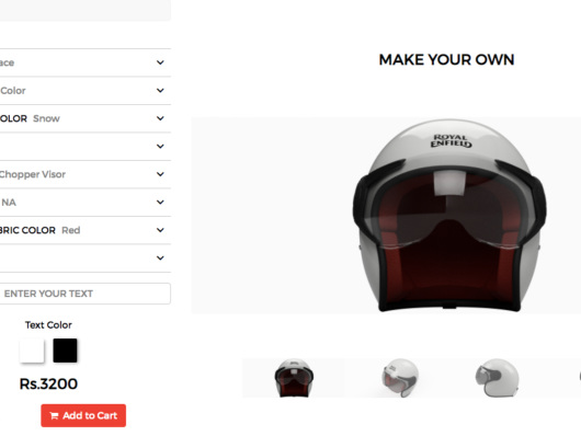 Now You Can Customise Your Helmet to Match Your Royal Enfield