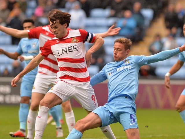 The striker on Mark Robins's Coventry City wish list