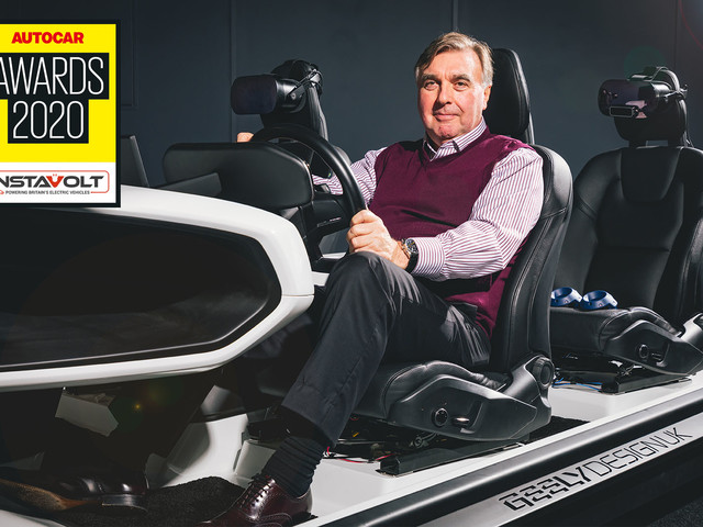Peter Horbury wins Lifetime Achievement award at 2020 Autocar Awards