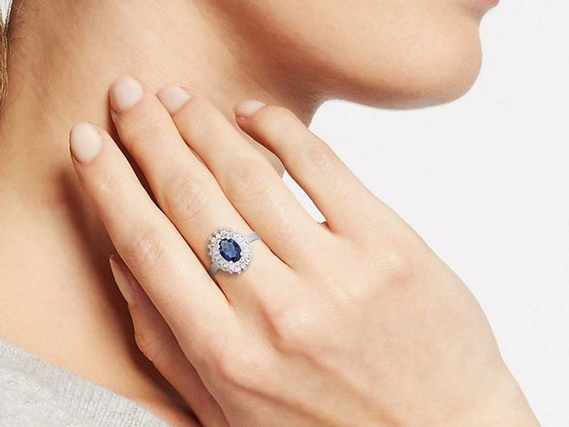 Replica Royal Rings - M&S Created a Budget-Friendly Version of Kate Middleton's Engagement Ring (TrendHunter.com)