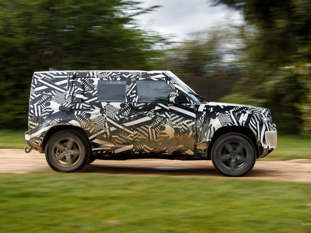 First ride: 2020 Land Rover Defender prototype