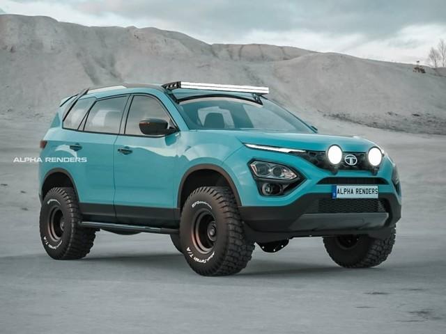 Tata Safari Adventure Persona Digitally Imagined As A 4×4 Off-Road SUV