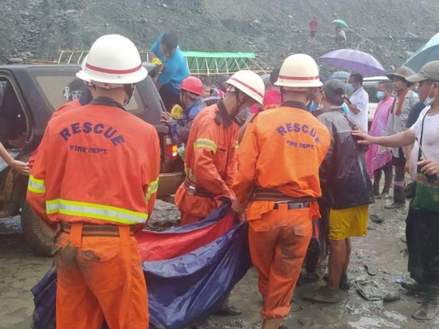'I feel empty in my heart': Landslide at jade mine kills at least 113 people