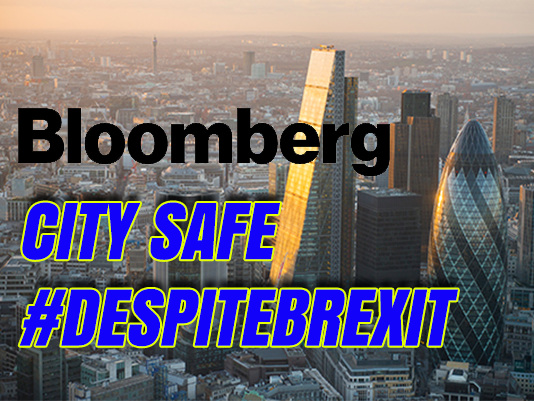Bloomberg: City Safe Despite Brexit