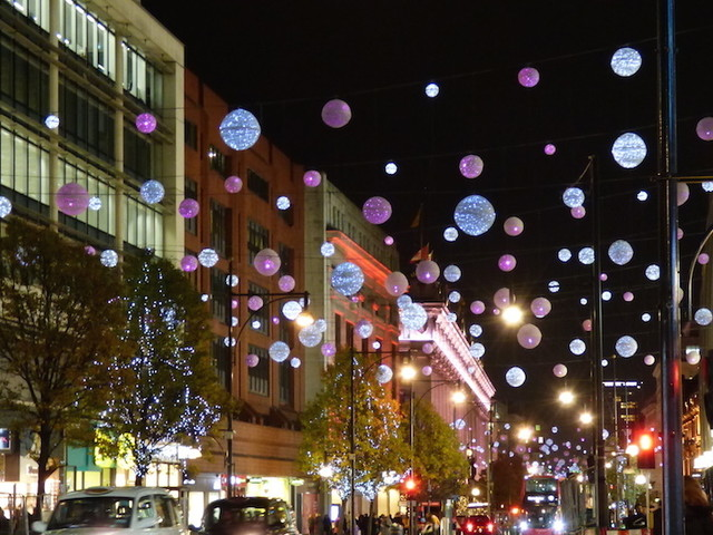 How To See London's Christmas Lights 2019 By Bus