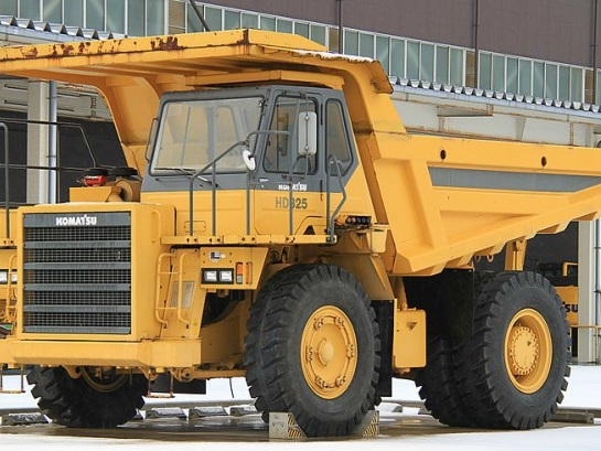 Introducing the World's Largest All-Electric Vehicle, the e-Dumper