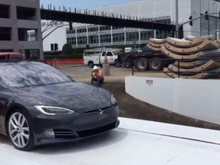 Elon Musk's Boring Company Tests Car Elevator (W/Video)