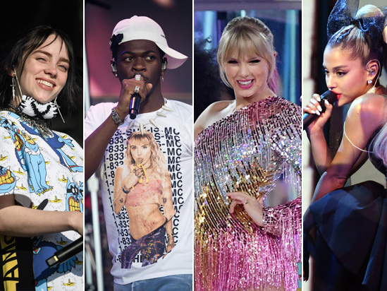 Ariana Grande, Taylor Swift, Billie Eilish Lead the 2019 MTV VMAs Nominations
