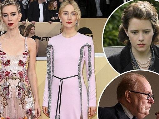 Vanessa Kirby and Saoirse Ronan lead SAG Awards Brits