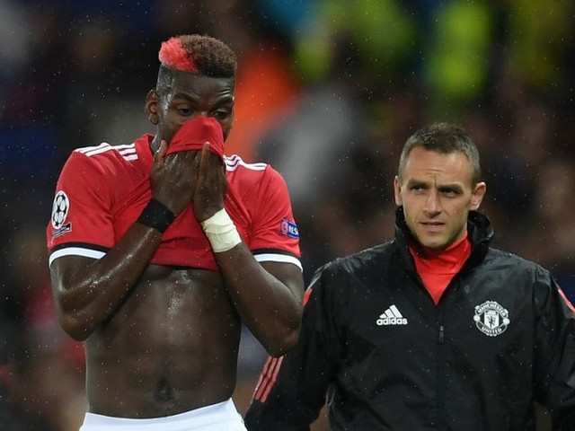 "Jose Mourinho admits he has ""no idea"" when Paul Pogba will return from injury"