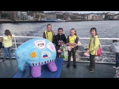 Shields Ferry gets its own Elmer the Elephant