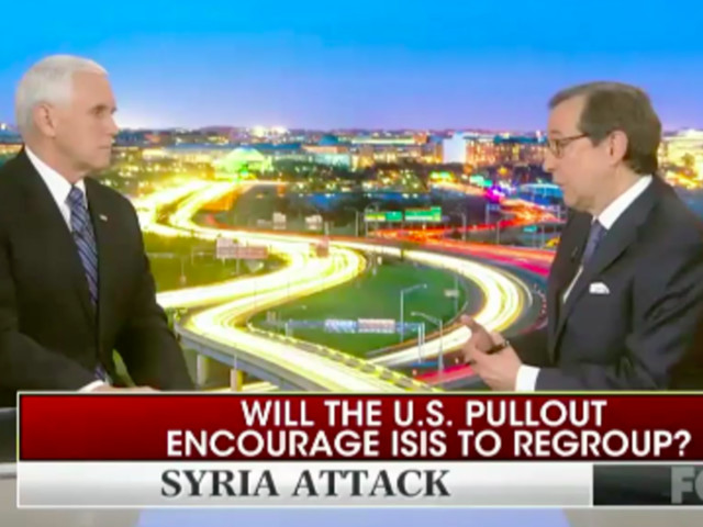 Fox News Host Grills Mike Pence For Claiming ISIS 'Defeated' Hours After Attack