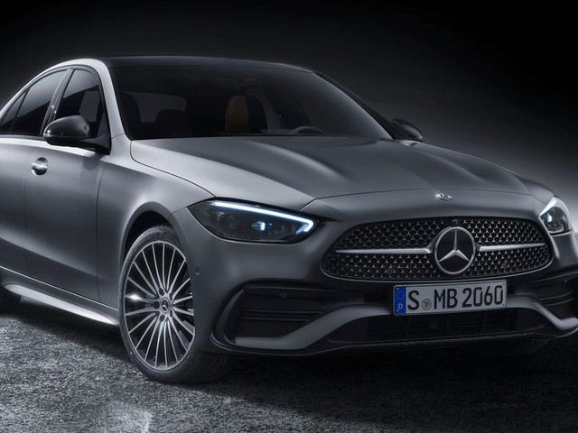 Mercedes' highest-volume model just got a huge makeover and tons of tech — tour the new C-Class sedan