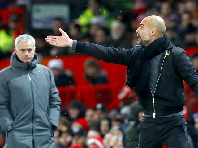 Man City manager Pep Guardiola delivers emphatic response to Jose Mourinho 'dive' claims