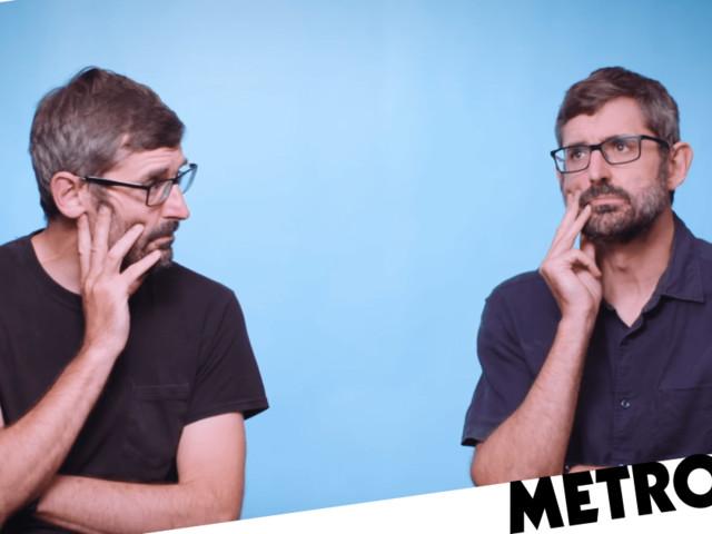 Louis Theroux reveals secret celebrity crush as he interviews… himself